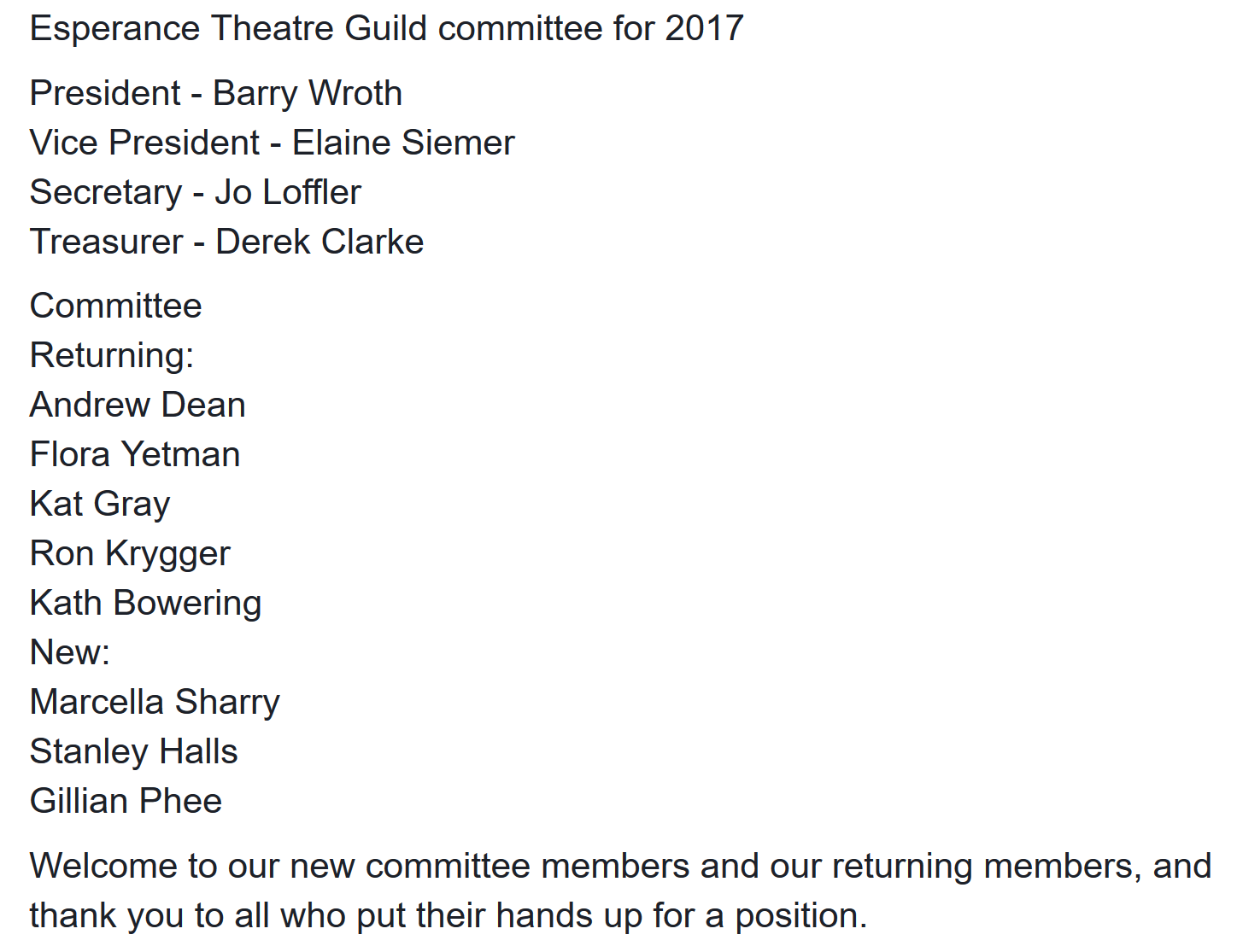 committee 2017