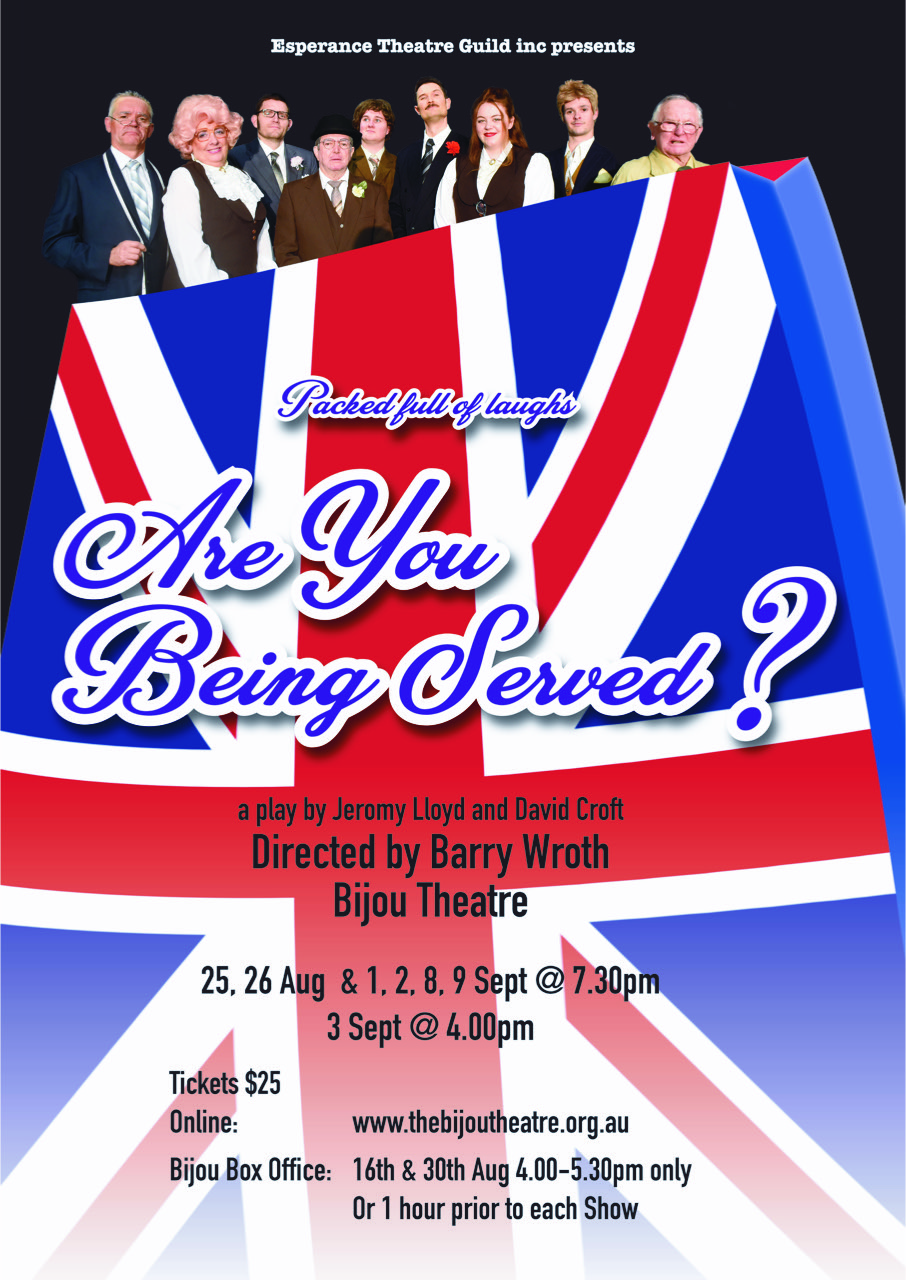 Poster Are you being served